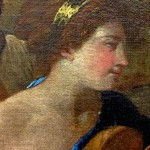 Bacchanal with Guitar Player or The Great Bacchanal – Detail 4
