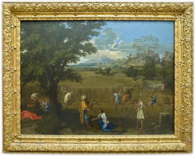 Nicolas Poussin - The Four Seasons - The Summer or Ruth and Boaz