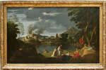 Landscape with Orpheus and Eurydice (1650-1653)