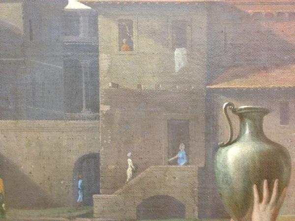 Eliézer et Rébecca 1648 - Musée du Louvre - détail 13