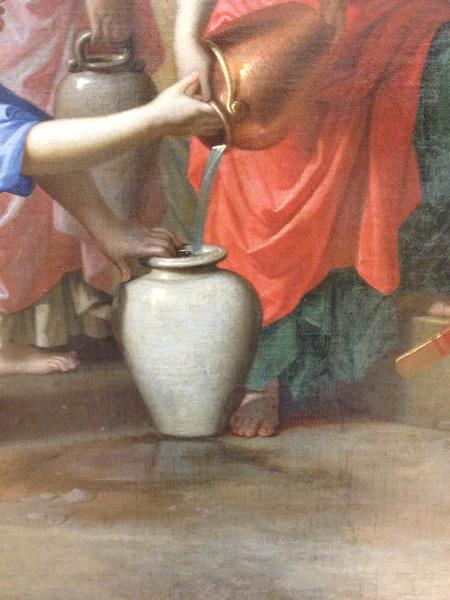 Eliézer et Rébecca 1648 - Musée du Louvre - détail 6